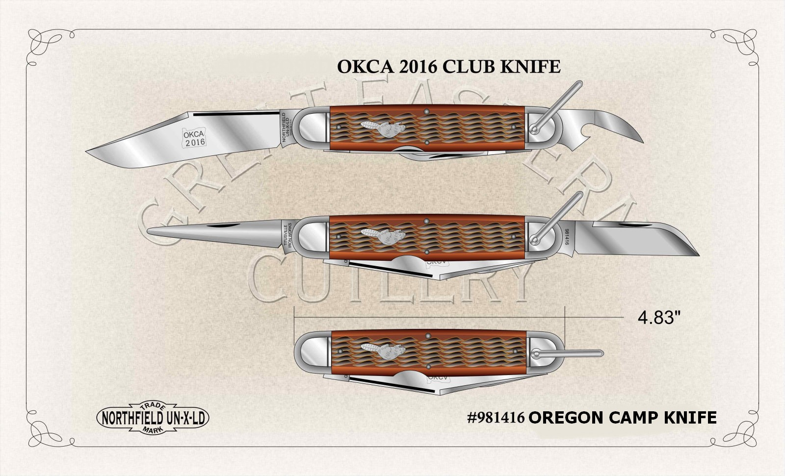 2016 Oregon Camp Knife